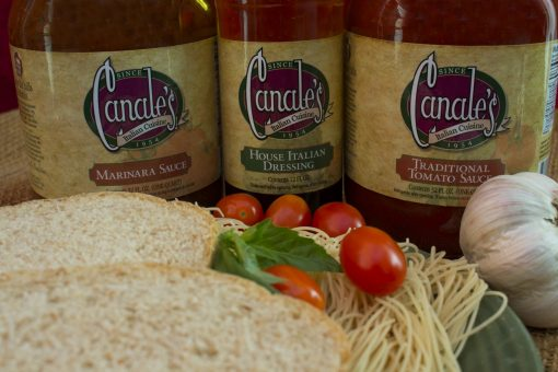 canales sauce and dressing