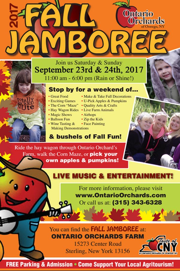 Ontario Orchards Fall Jamboree 2017